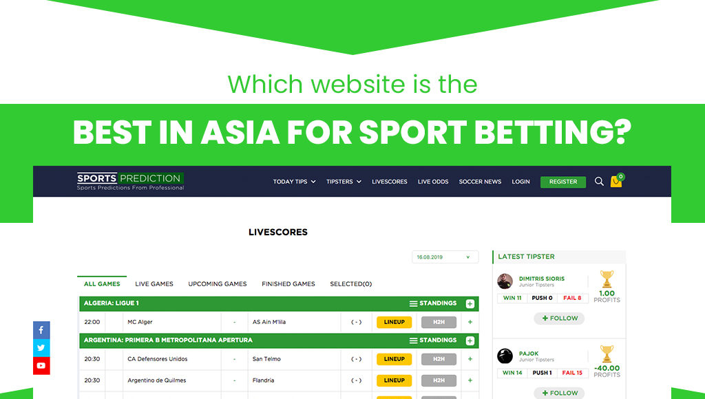 Best sports betting websites in Asia